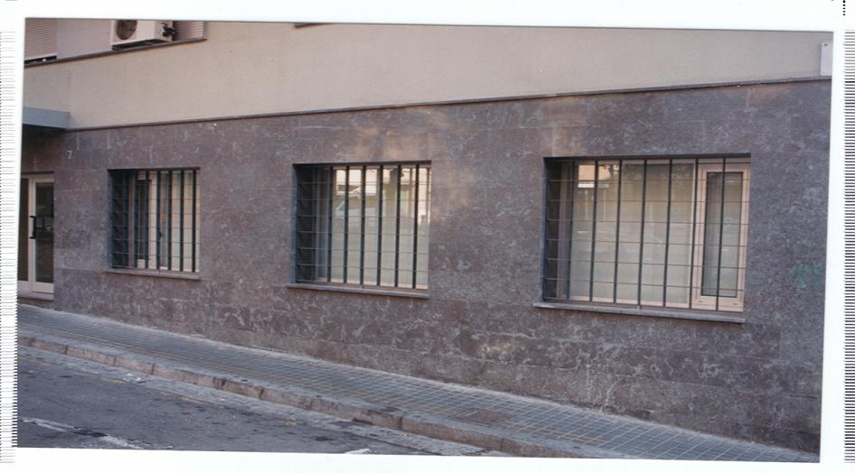 Rejas de seguridad realizada para ventanas de exterior.