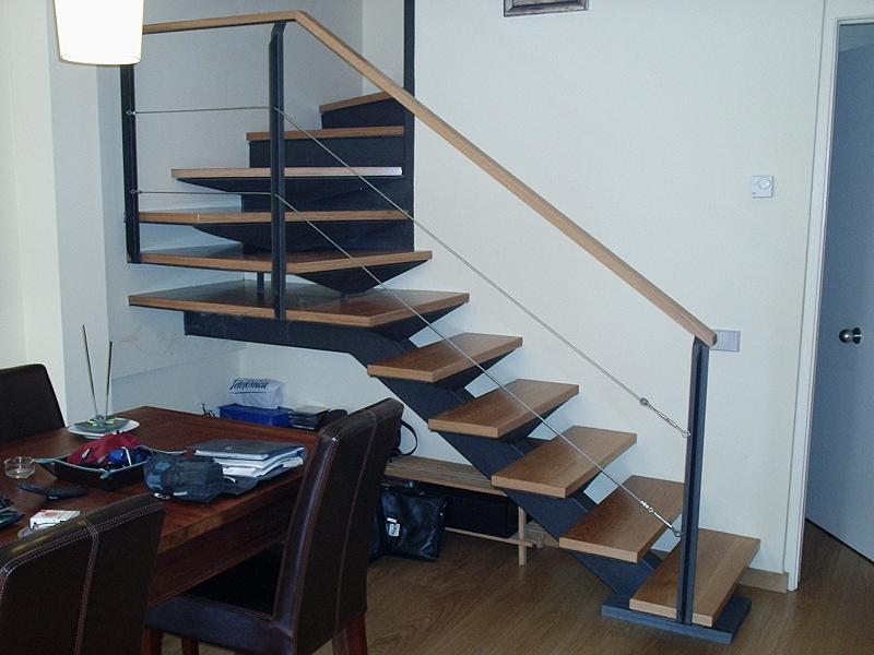 Inox ferro s l cat logo escaleras compensadas for Escaleras de hierro precios